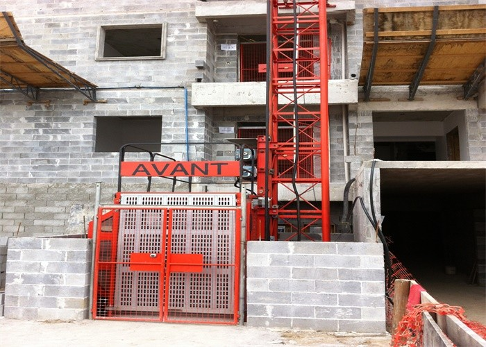 Convenient Construction Hoist Elevator Indoor Outdoor Buildings